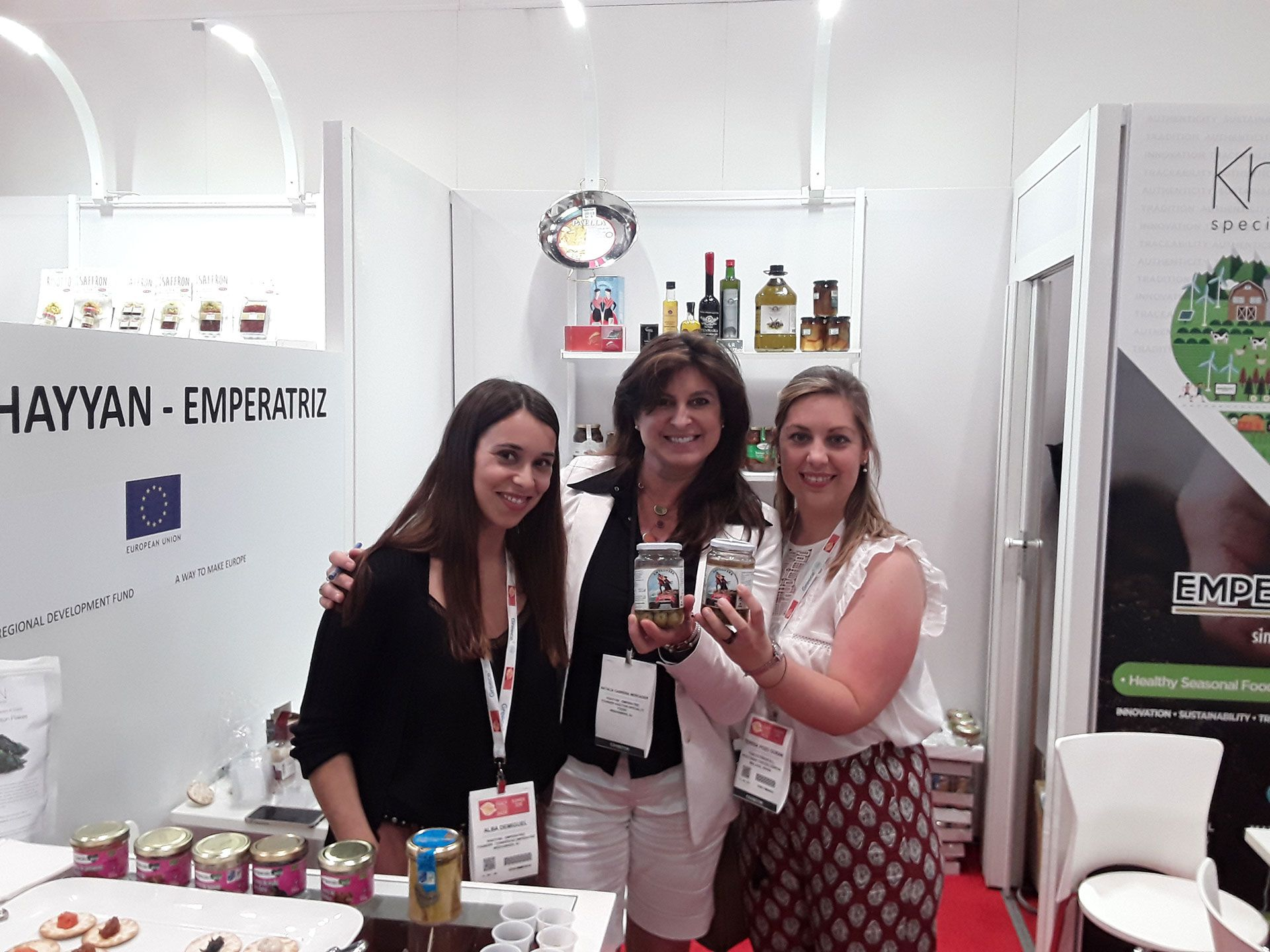 Aceitunas Chicón Lebrón opens its market to United States in the Summer Fancy Food of New York